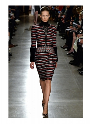 Oscar de la Renta Embellished Wool-Blend Jacket - Runway