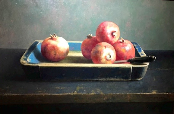 Still-life with Pomegranate