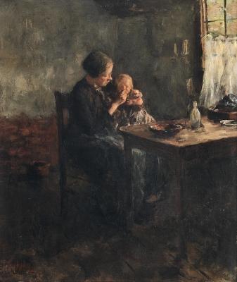 Breakfast - Jacob Simon Hendrik (Hein) Kever
