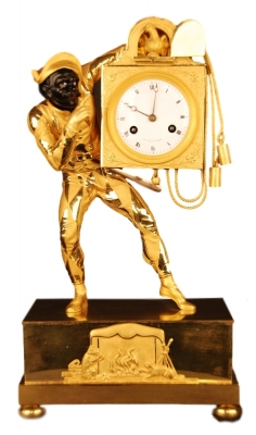 M242 Harlequin mantel clock