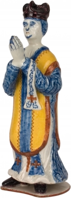 Polychrome Delft Figure