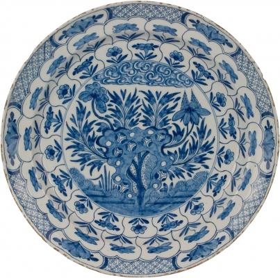 Bleu Delft Plate