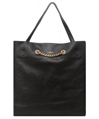 Lanvin Black 'Carry Me' Medium Tote Bag - Lanvin