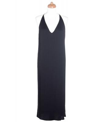 The Row Black Pleated Dress - The Row