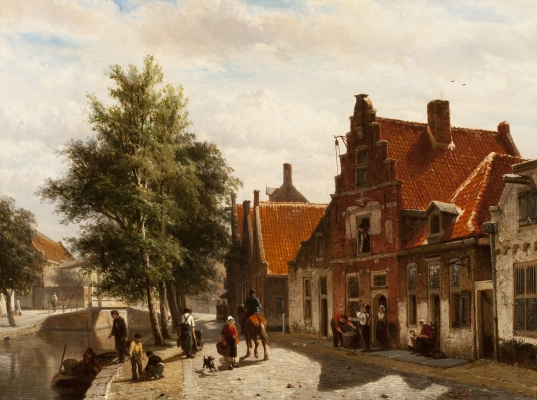 Burgwal in Haarlem