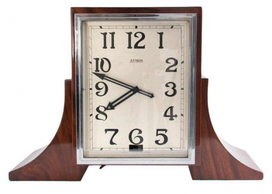 M248 Rare wooden Reutter Atmos clock