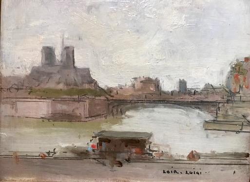 La Seine et Le Notre Dame