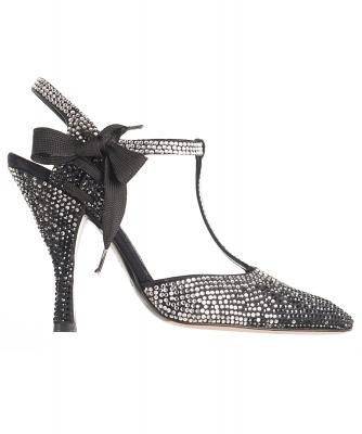 Tom Ford for Yves Saint Laurent Rhinestone Spectator Shoes - Yves Saint Laurent