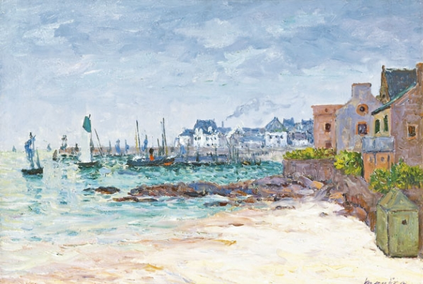 Port Maria, Quiberon - Maxime Camille Louis Maufra