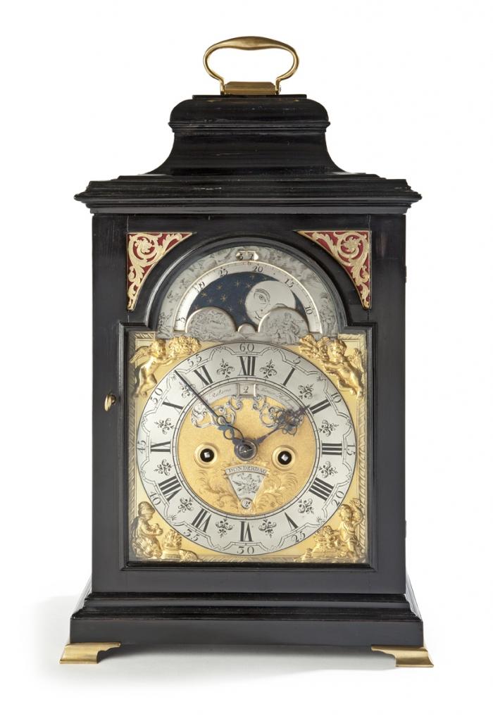 Dutch bracket clock - H. Ratsma Jr.