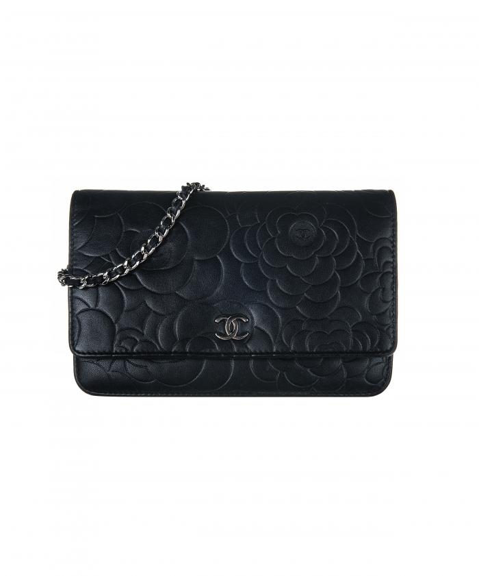 b73449f47db1 Chanel Camellia Wallet On Chain WOC Bag
