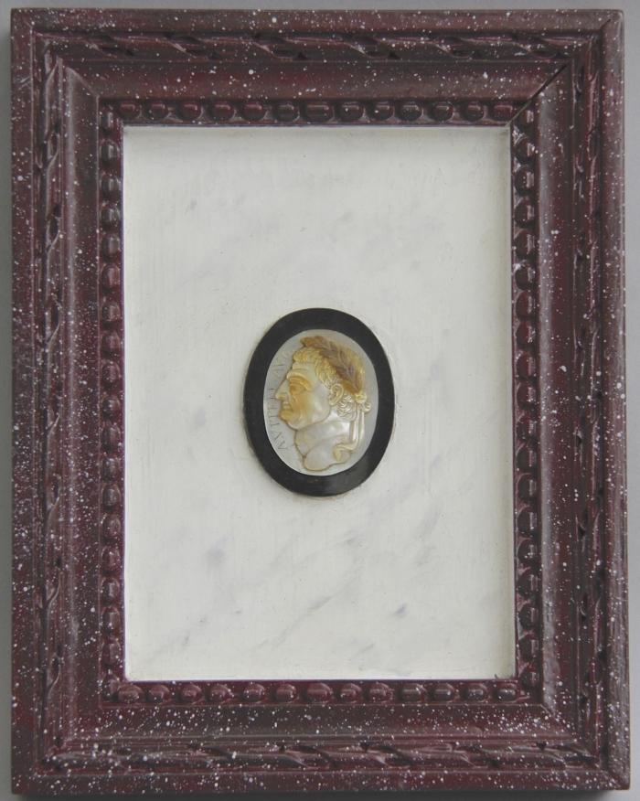 Portraits of Emperors Vitellius and Galba