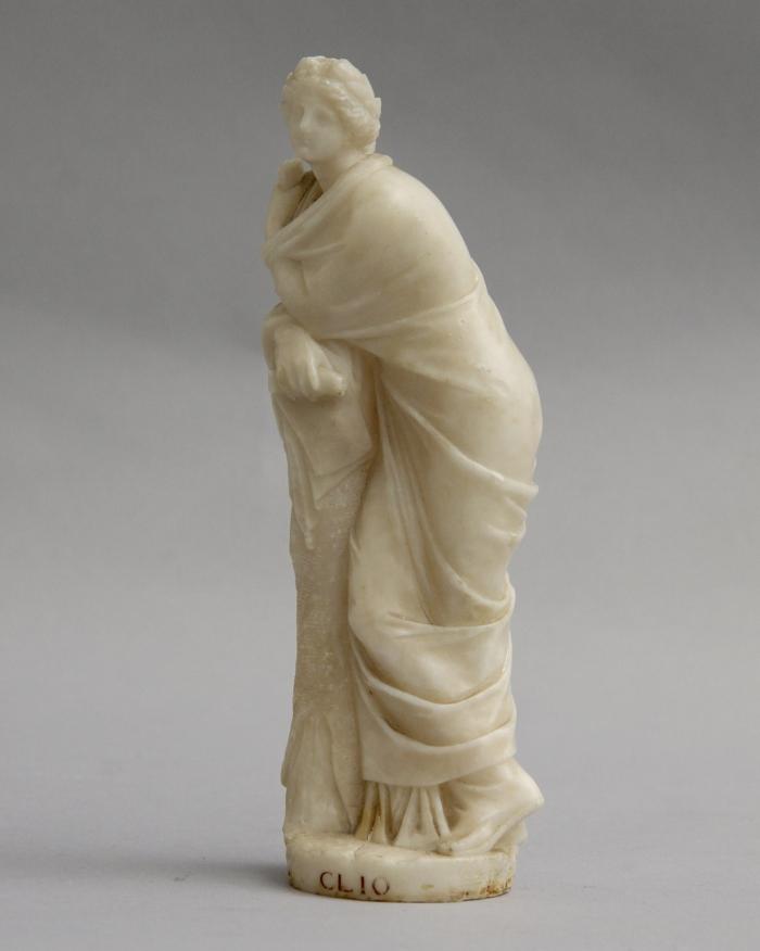 Alabaster statue of Clio