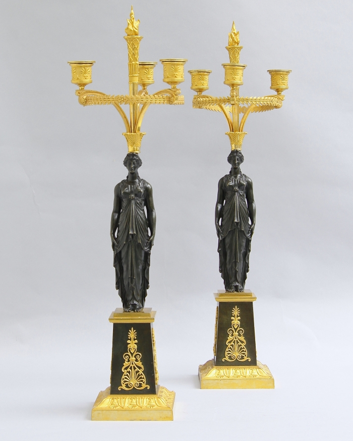 Pair candelabra