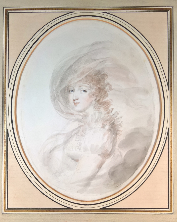 Isabey: portrait of a Princess of Hesse