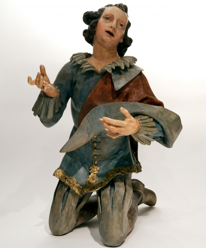 Sculpture of a Young Man