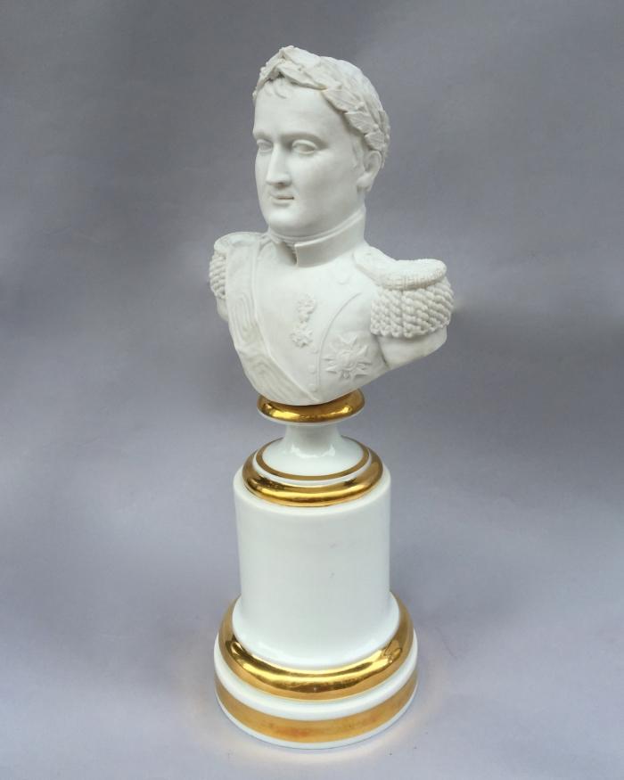 'Porcelaine de Paris' bust of Napoleon