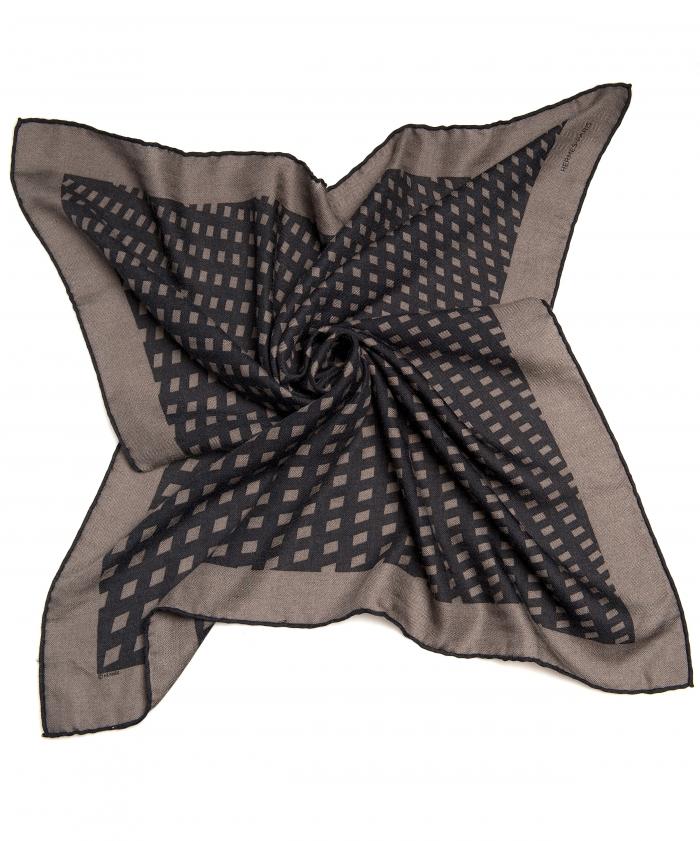 Hermès Cashmere and Silk Blend Scarf