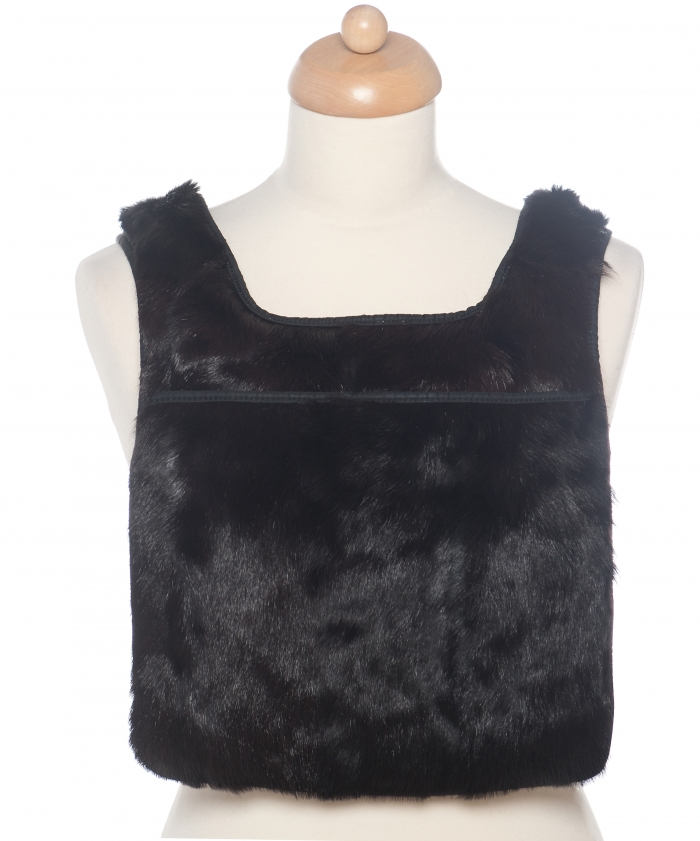Prada Mink Fur Backpack