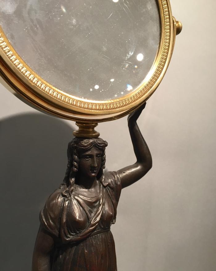 Empire toilet mirror