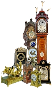A collection of more than 300 top quality clocks and fine Art