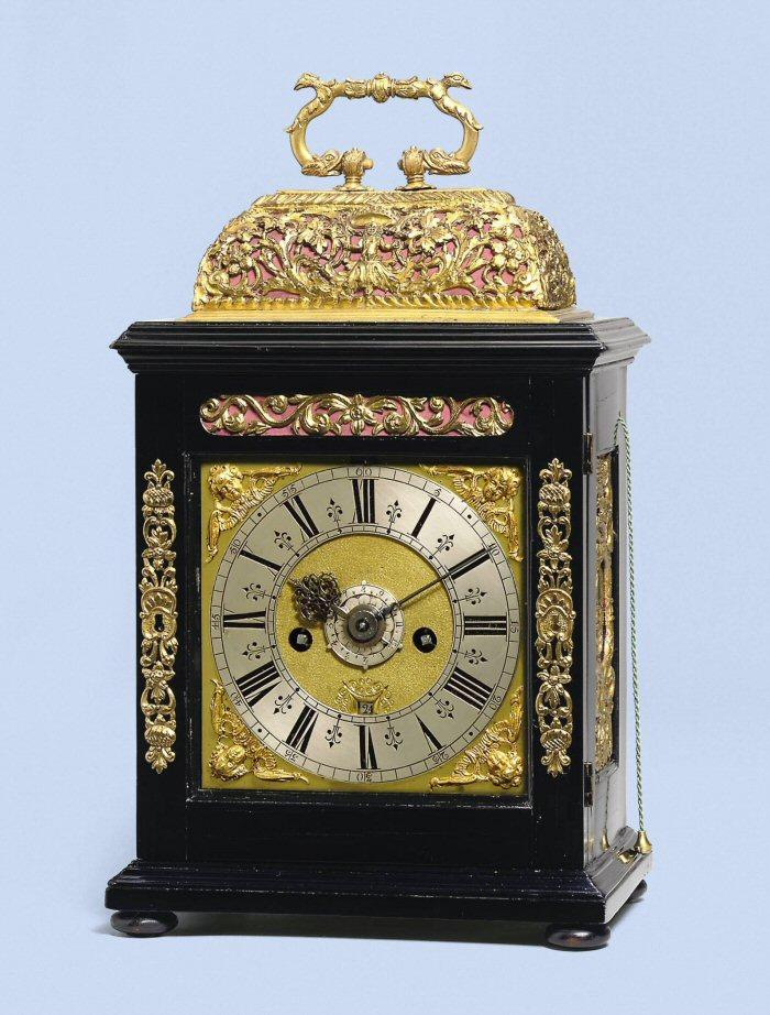 Bracket clock, Joseph Norris, Amsterdam, circa 1690.