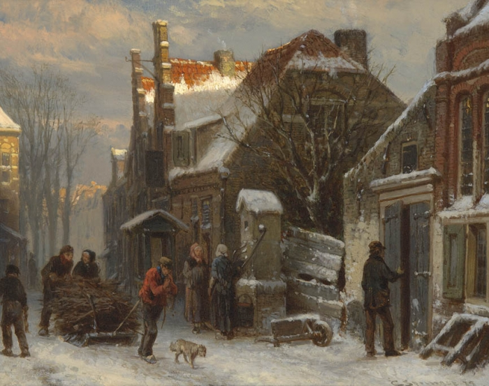 Harderwijk, winter