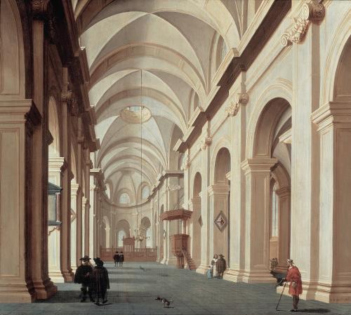 Interieur van een kerk daniel de blieck 1656 antiek for Interieur 51 berlin
