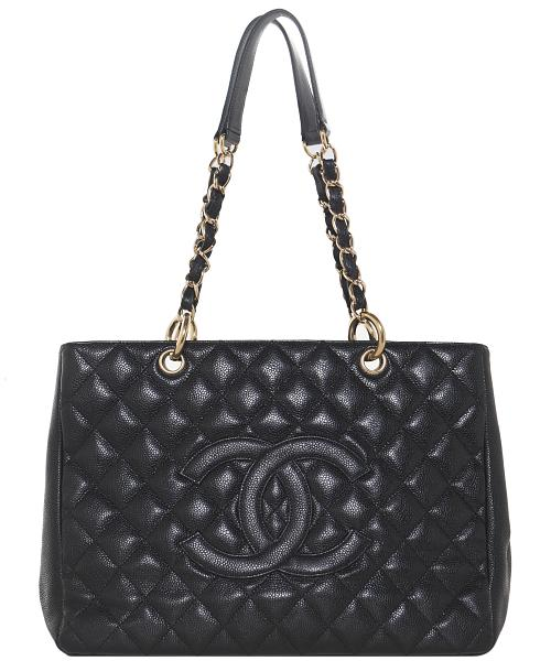 98811e9cc91 Chanel Black Caviar GST Grand Shopping Tote GHW | La Doyenne