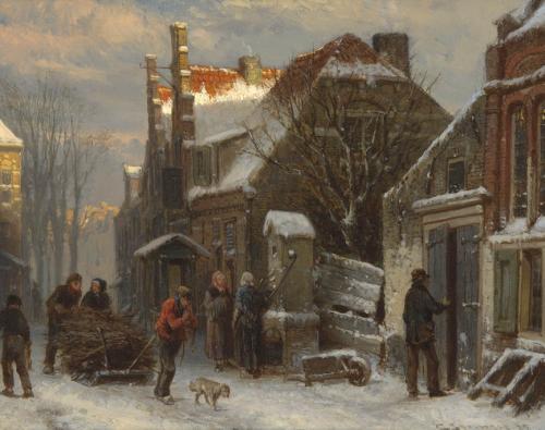 Harderwijk, hiver