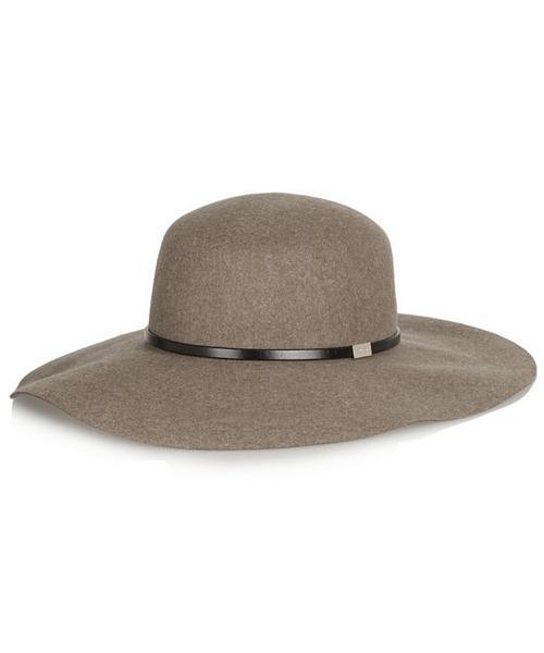 22b29ef985d06 Gucci Wide-brim Rabbit-felt Hat